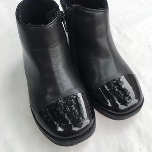 Zara | black leather boots 🤩
